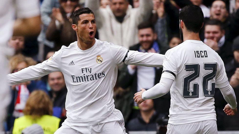 Cristiano, encantado con Zidane