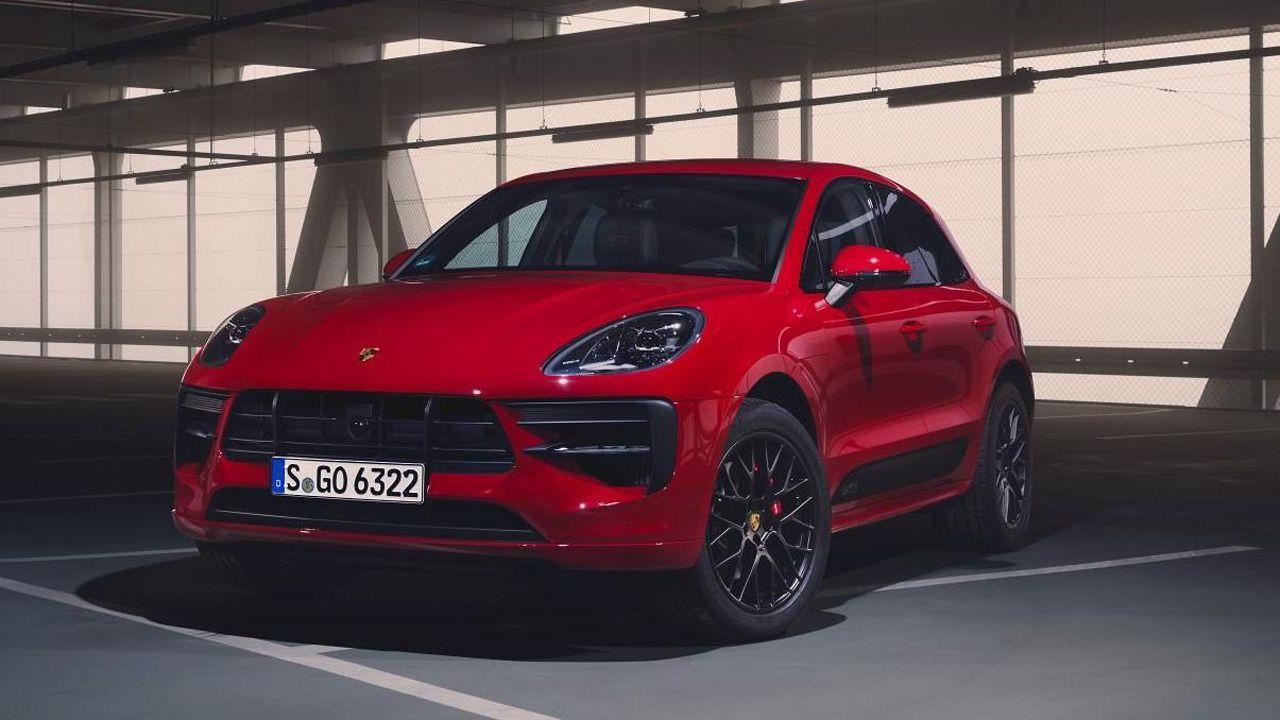 Superdeportivos en el Salón de Ginebra.La nueva versión deportiva GTS de Macan, Porsche