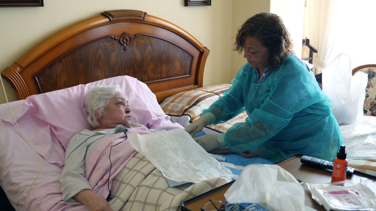 Así es una jornada de trabajo del servicio de hospitalización domiciliaria