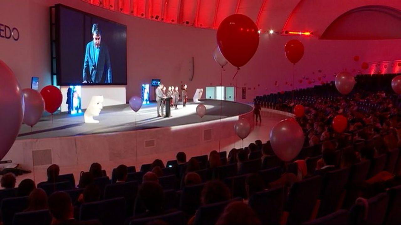 Gala de entrega de los premios AJE