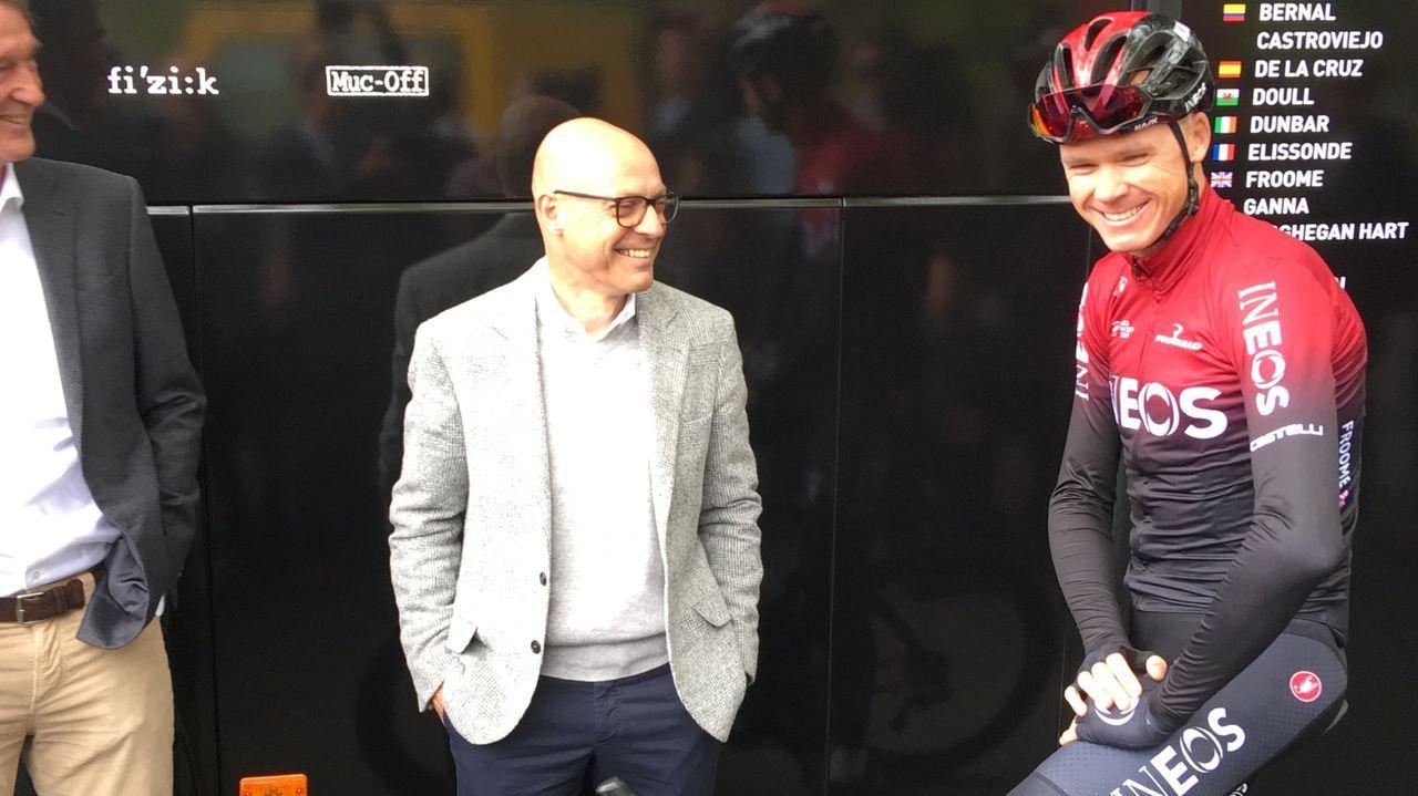 Así fue la primera etapa de Sergio Pazos en su reto ciclista por la pequeña Olivia