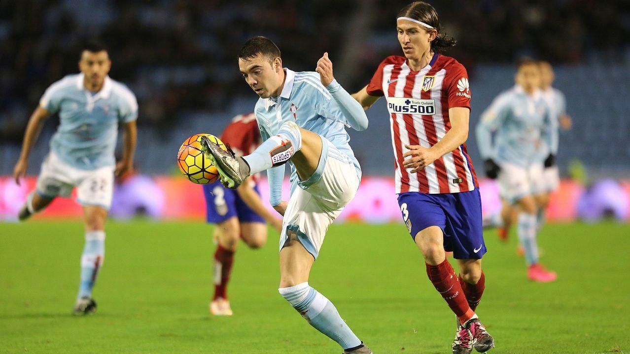 173 - Celta-Atlético (0-2) de Primera el 10 de enero del 2016