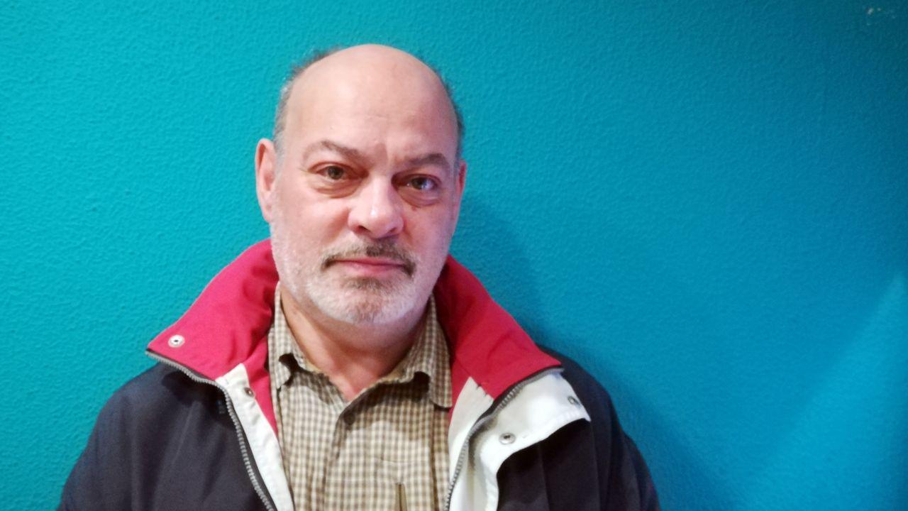 Test covid.Luis Miguel Cuervo, excoordinador de la Asociación para la Recuperación de la Memoria Histórica (ARMH) de Asturias