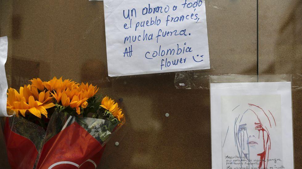 Homenaje en Bogotá (Colombia)