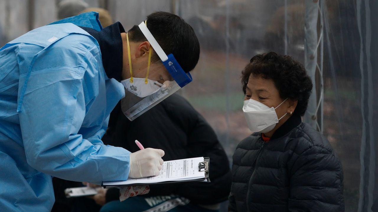 Eva.Aumentan los casos de coronavirus en Corea del Sur