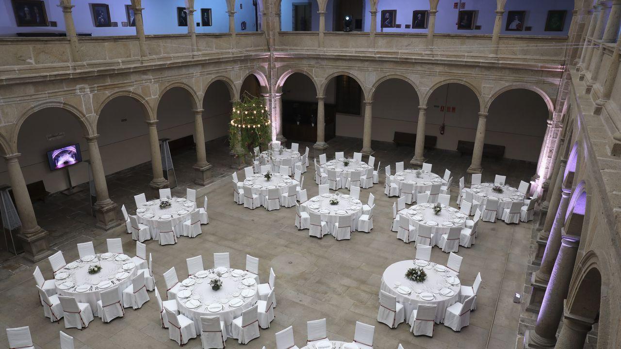 Así son las bodas en los salones de hoteles de 4 y 5 estrellas de Santiago
