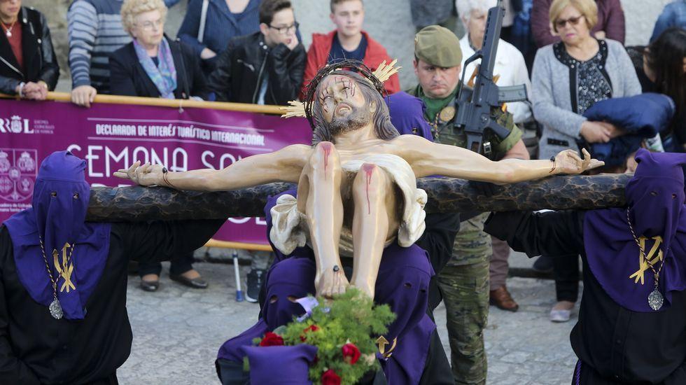 Procesión de la Buena Muerte, en Ferrol