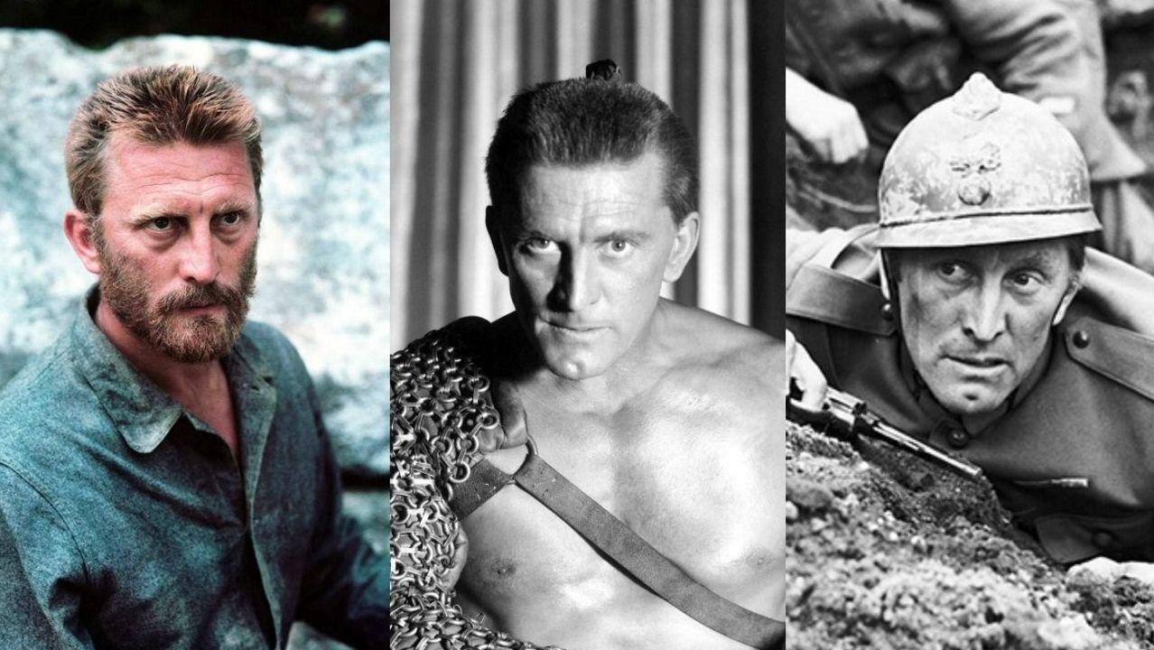 «Parásitos» hace historia en los Óscar.Douglas, en tres de sus filmes más recordados: «El loco del pelo rojo», «Espartaco» y «Senderos de gloria»