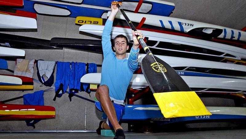 David Cal, durante los Juegos Olímpicos de Londres.