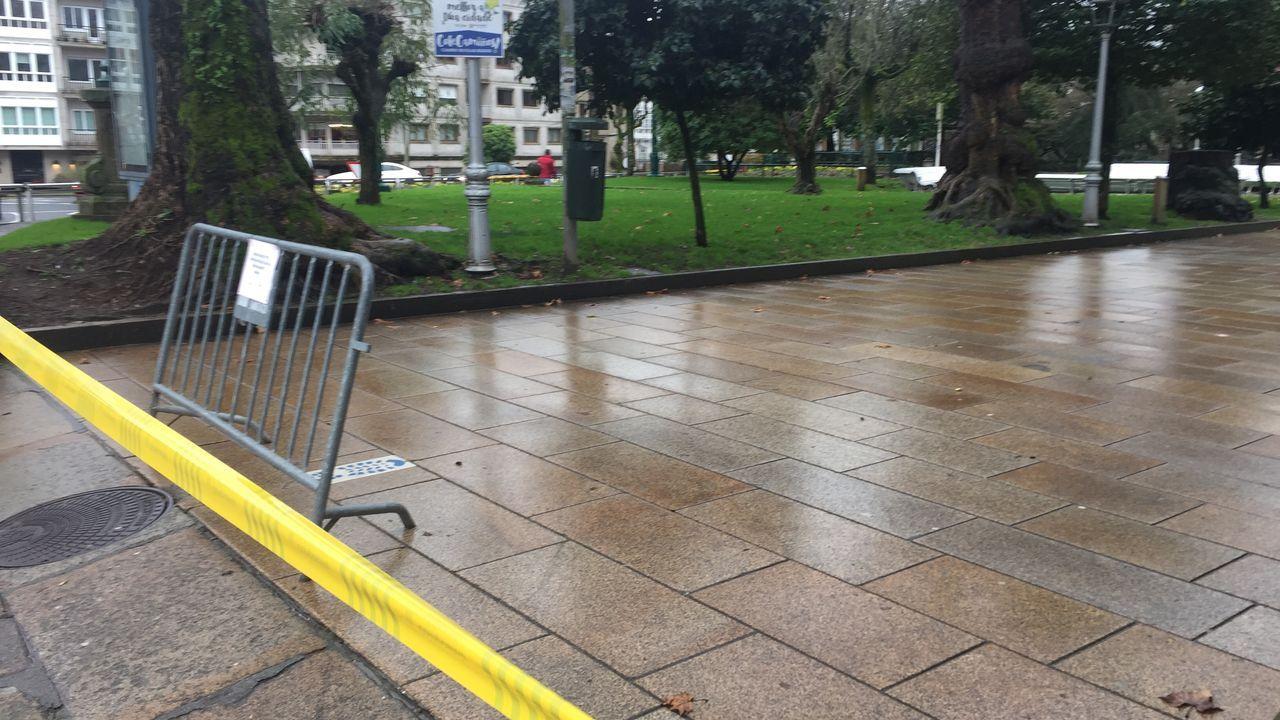 Cierra de parques también en Santiago.