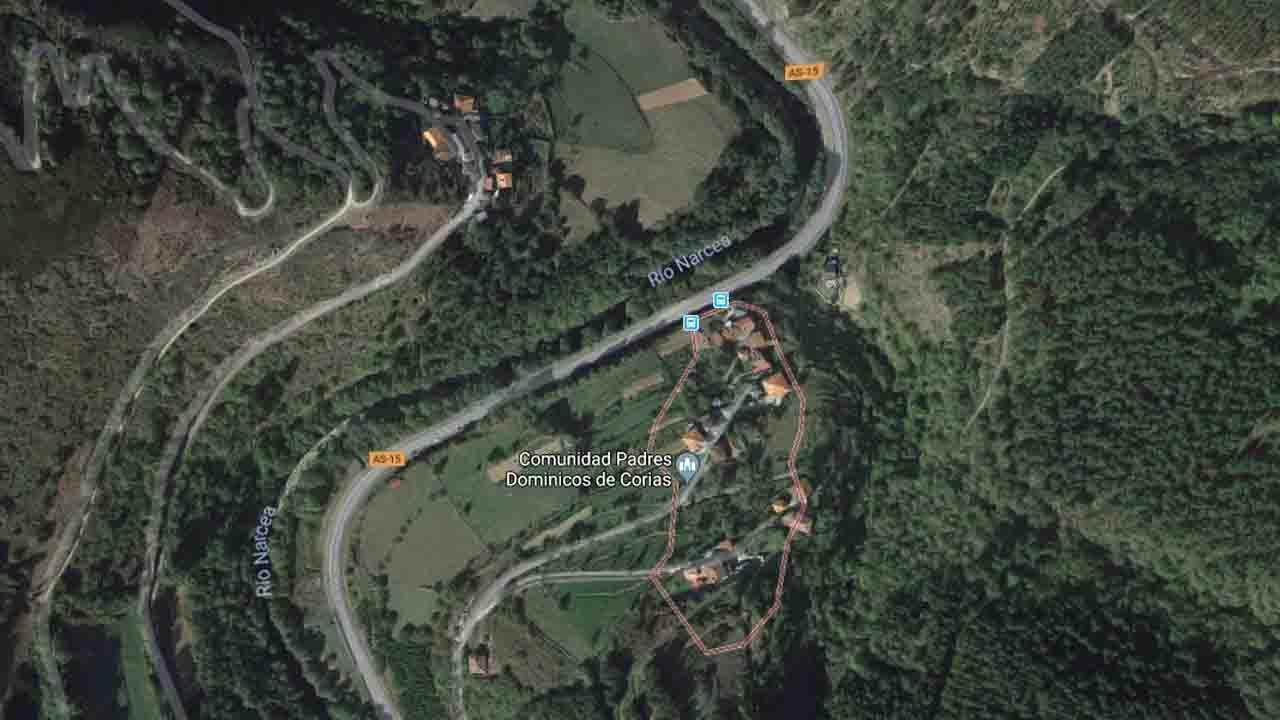 Dos fallecidos en un accidente de tráfico en San Pedro de Corias