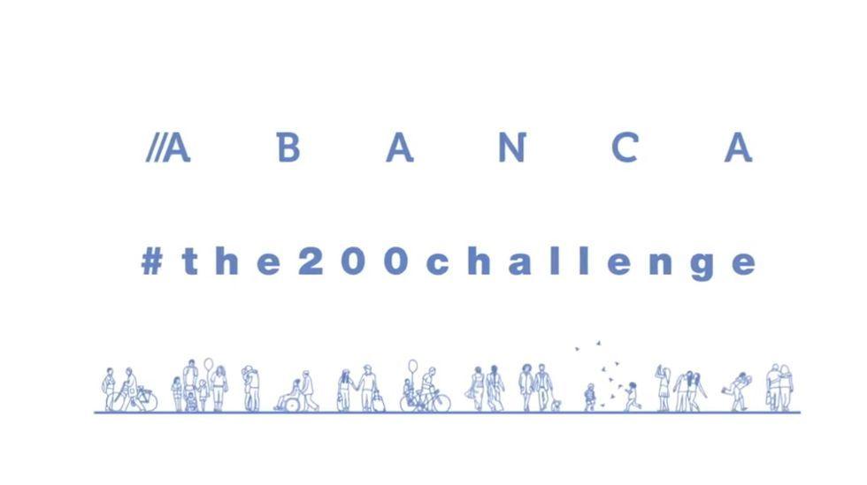 Abanca se suma al reto de separarse 200
