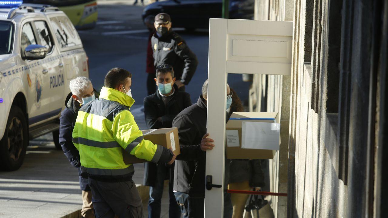 Galicia se prepara ya para empezar a vacunar