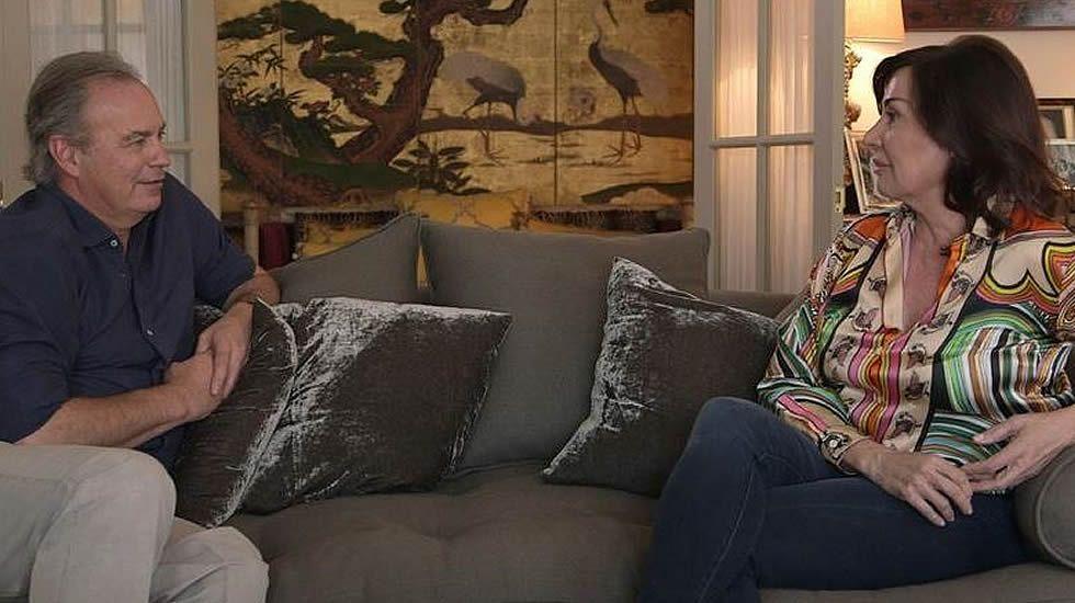 Bertín entrevista a Carmen Martínez Bordiú.Adolfo Suárez será el próximo invitado del programa de Bertín Osborne.