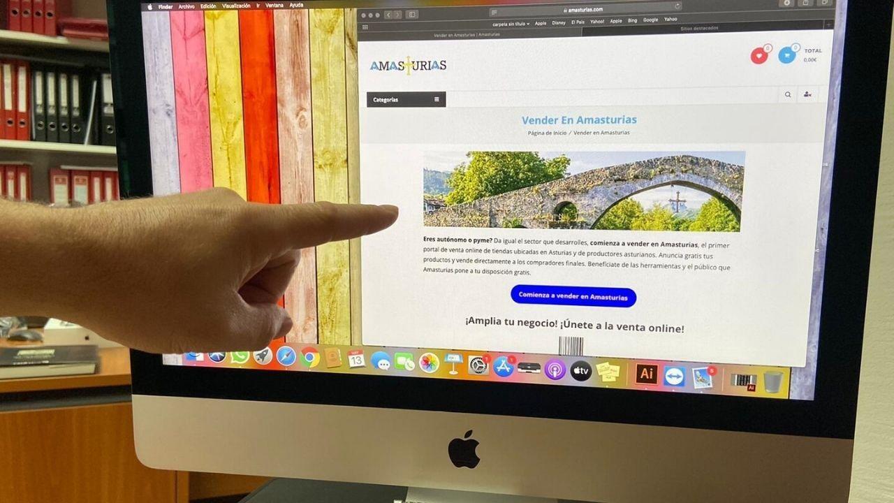 Oviedo .Página de inicio de la web amasturias.com