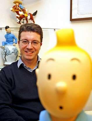 Homer001.Pedro dice que Tintín es el personaje más puro.