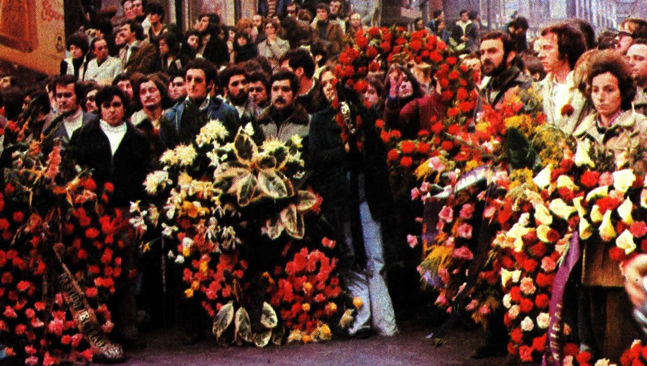 Homenaje a los abogados asesinados, en 1977