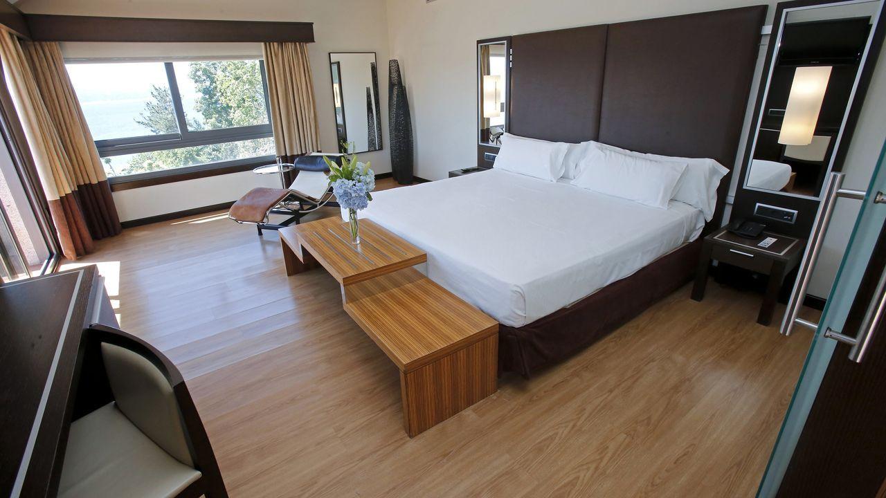 Suite del Gran Talaso Hotel Sanxenxo