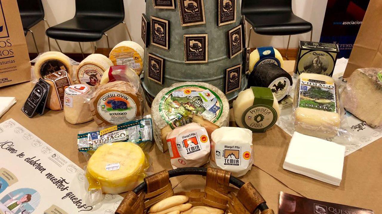 Productos y artículos promocionales de Queseros Artesanos del Principado de Asturias