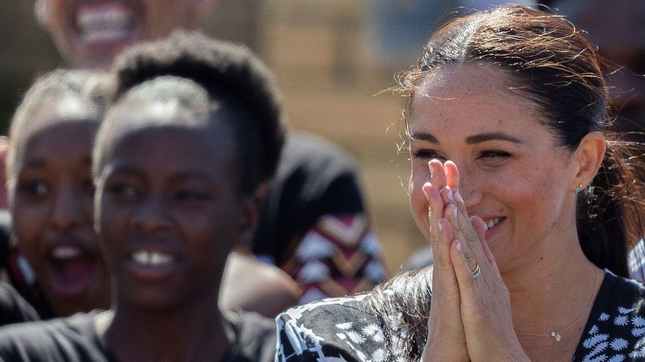 Las entrañables fotos del viaje de Meghan y Harry a Sudáfrica