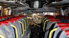 Así fue el accidente del autobús de PSA en Oia