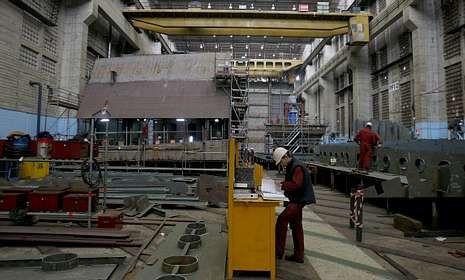 Los bloques fueron fabricados en Navantia Ferrol -en foto de archivo- y en Fene.