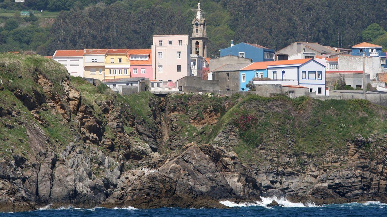 Primer polluelo de píllara de las dunas de este año en Galicia, en la playa de Baldaio, en Carballo