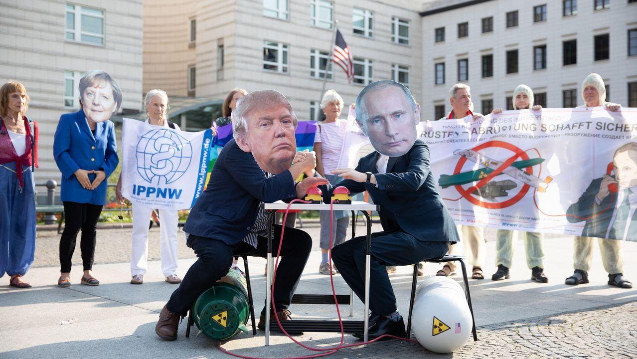 Protestas este jueves en Berlín por la decisión de EE.UU. y Rusia de poner fin al Tratado de Armas Nucleares
