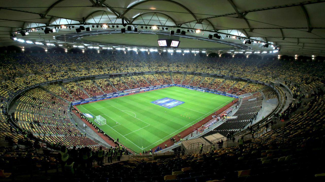 Estadio Arena Nacional de Bucarest donde se jugará el Atlético de Madrid-Chelsea