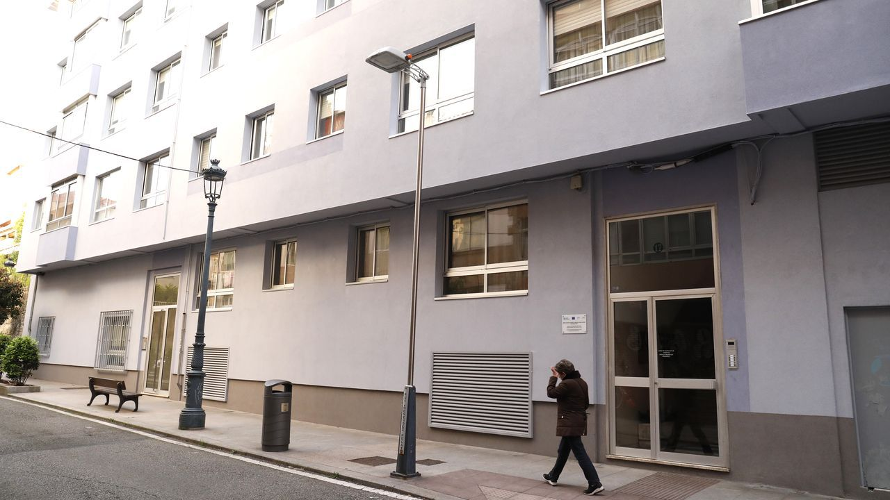 Atraco en Coia.Juzgados de Vigo donde se llevó la causa