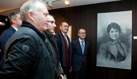 Representantes de la Administración visitaron el museo para comprobar el resultado de las obras.