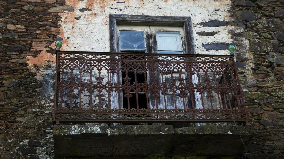 Balcón en la Casa de Mestre