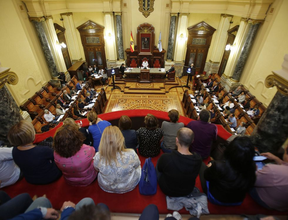 Las imágenes de la tortura en México.En la imagen, de izquierda a derecha, cuatro de las funcionarias del juzgado de violencia, Begoña, Emilia, Helen y Dulce.