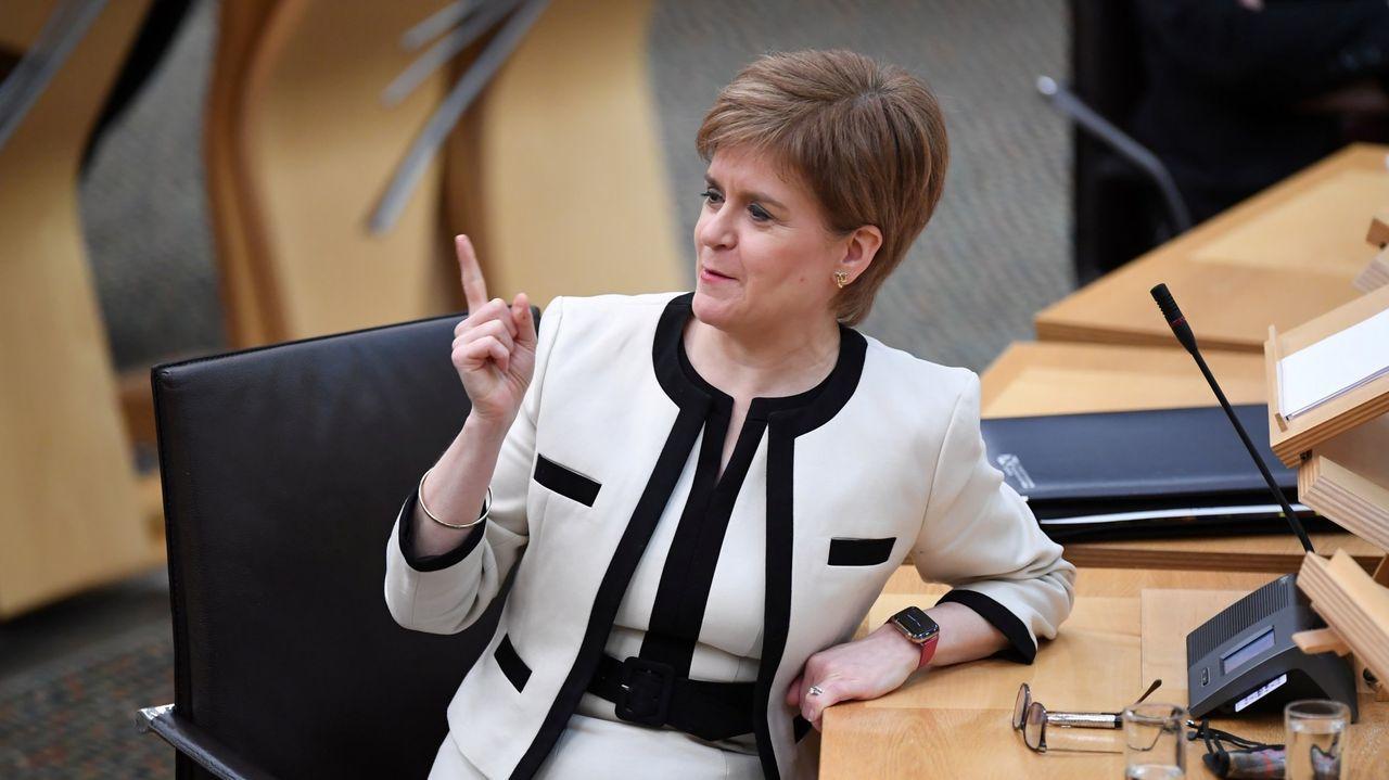 La ministra principal escocesa, Nicola Sturgeon