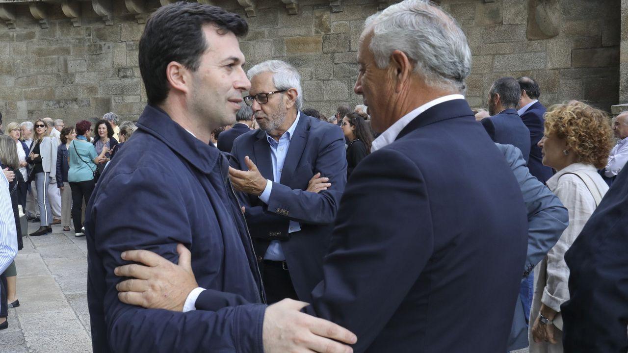 Gonzalo Caballero, junto a Pachi Vázquez