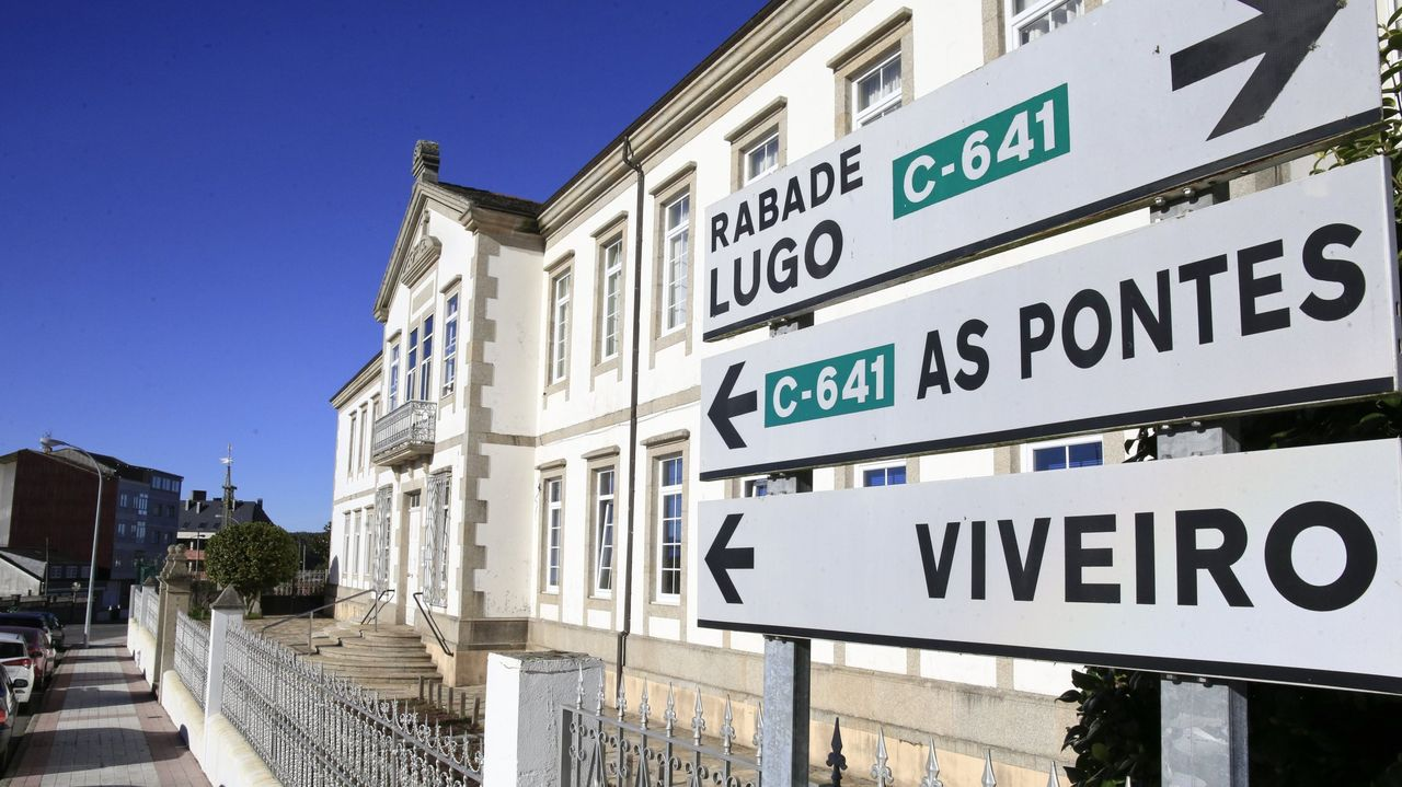 Exterior de la residencia de personas mayores de Vilalba