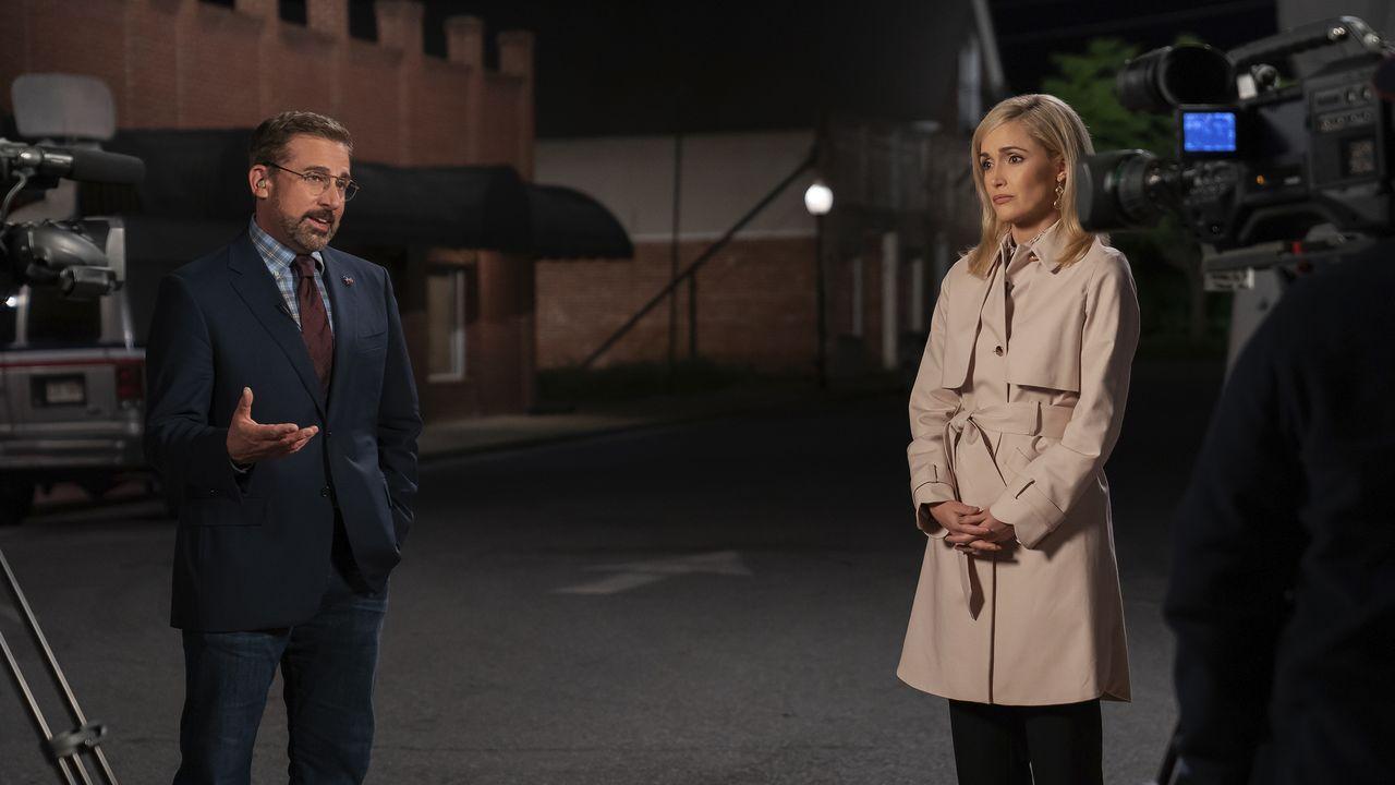 Los actores Steve Carell y Rose Byrne, en una escena del filme «Un plan irresistible»