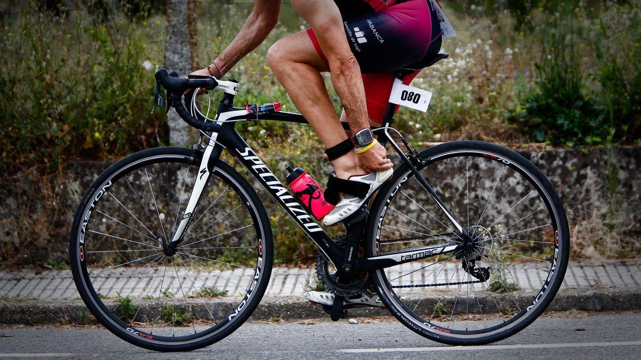 Triatlón con espíritu olímpico en Castrelo de Miño