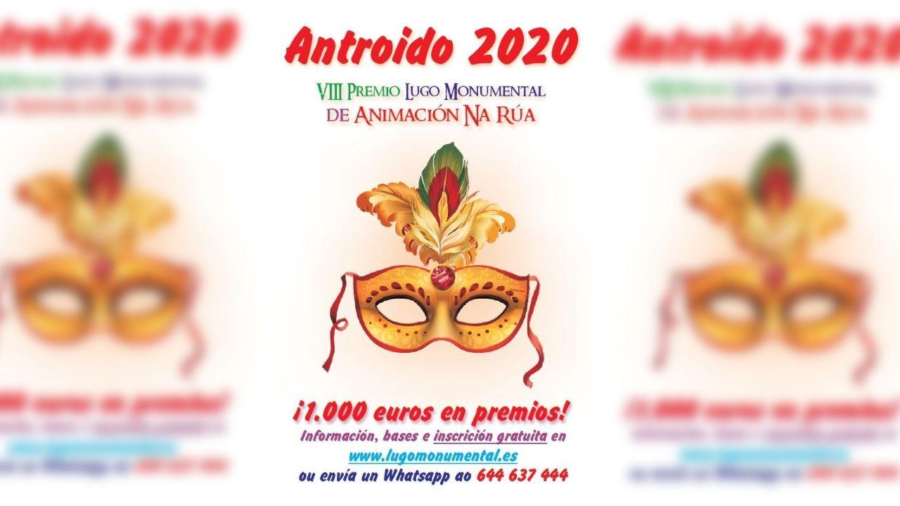 El cartel del Antroxu de Xixón 2020