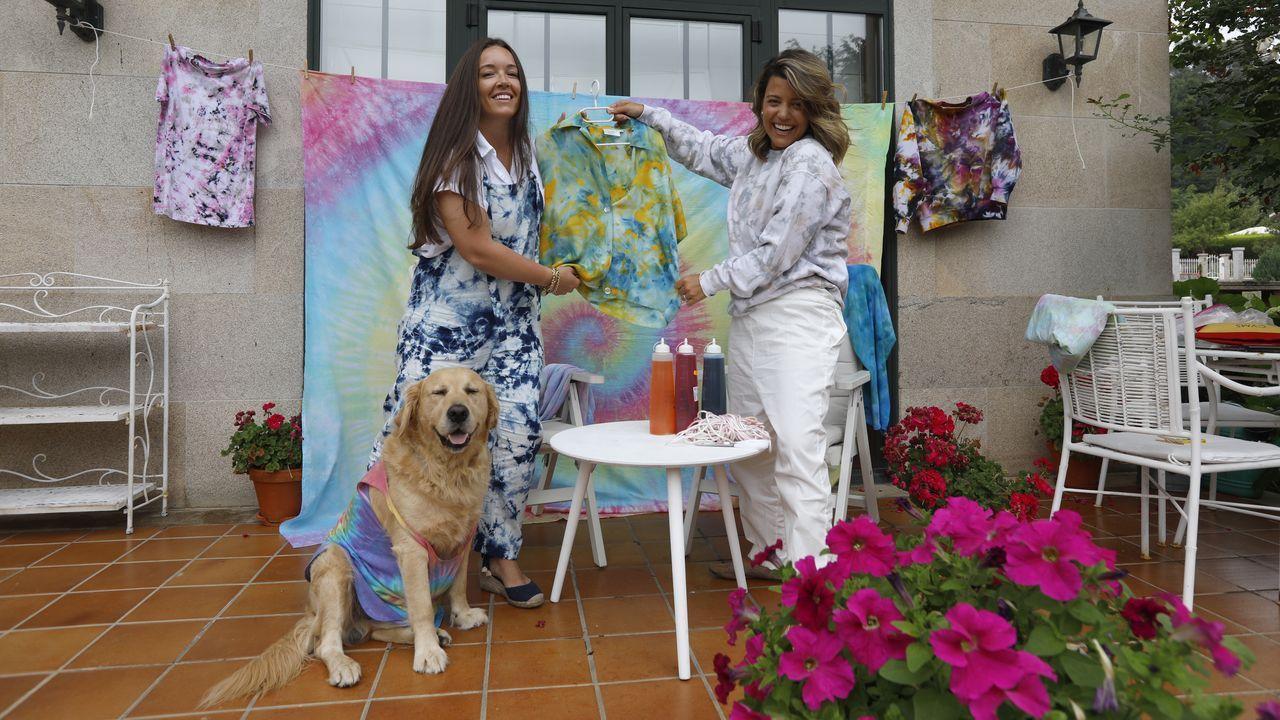 Cristina, el pequeño Milan, y Ana