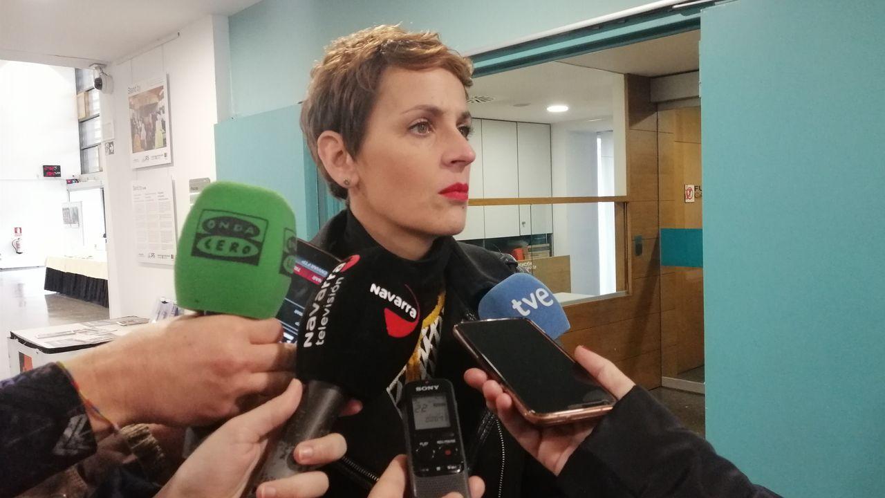 María Chivite, del PSN, presidenta de Navarra