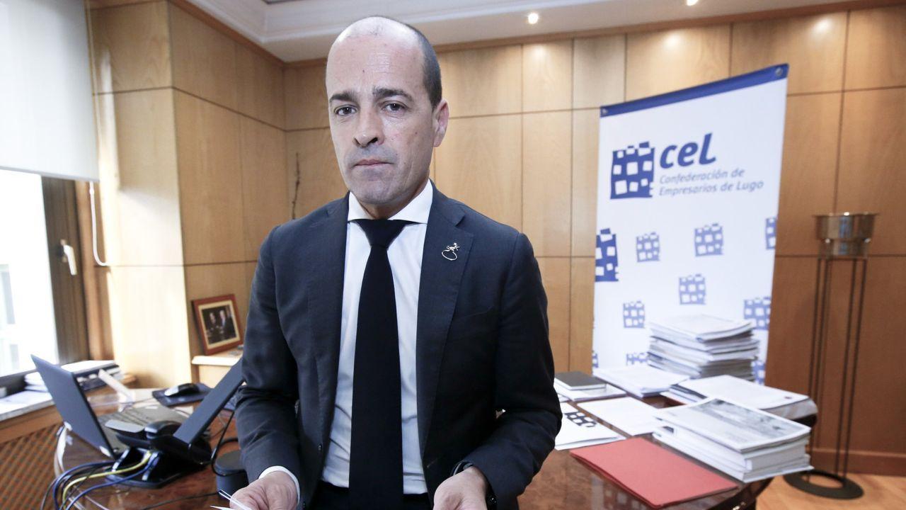 El secretario de la CEL, Jaime López