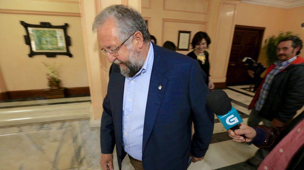 Orozco, a la salida de la reunión