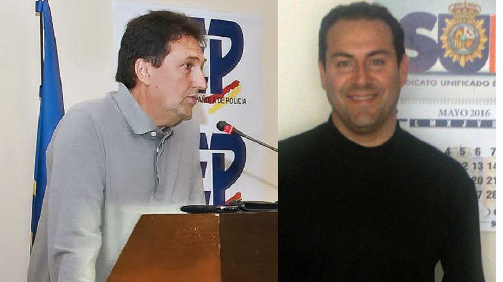 Miguel Ángel Campos (izquierda) y Matías Castaño (derecha)