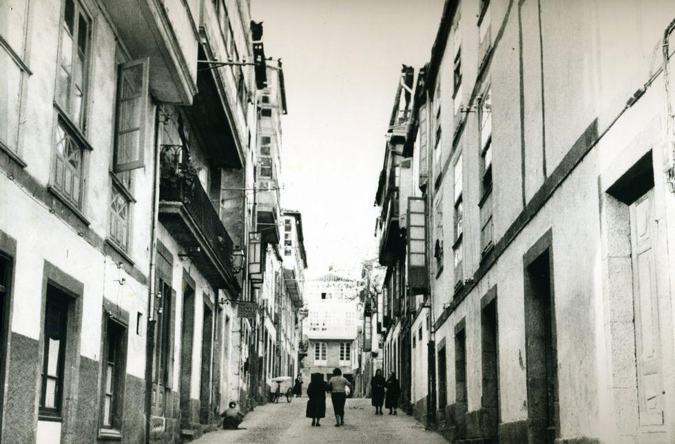 En la calle Zapatería se concentraban todos los zapateros de la ciudad0.