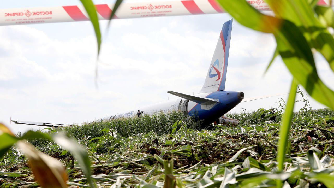 Aterrizaje de emergencia en Rusia