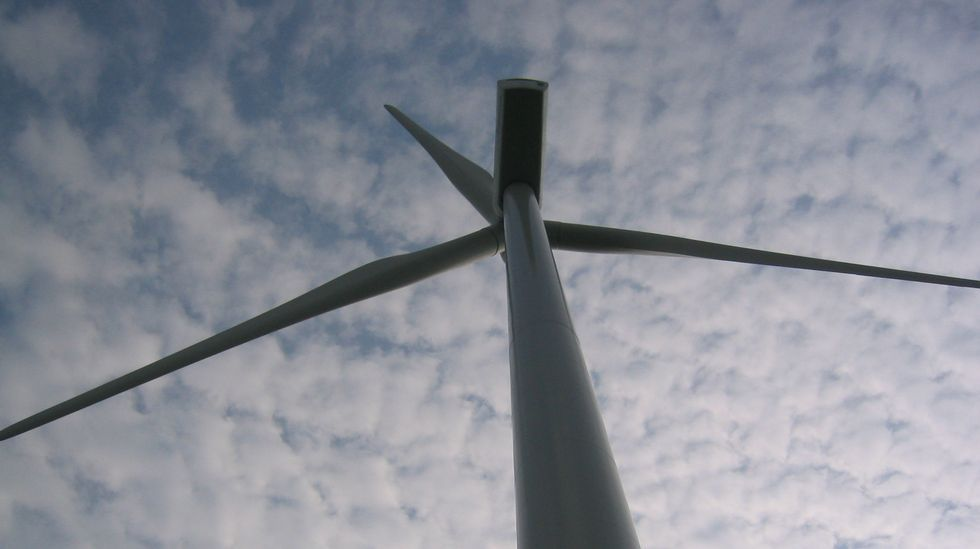 Molino de energía eólica