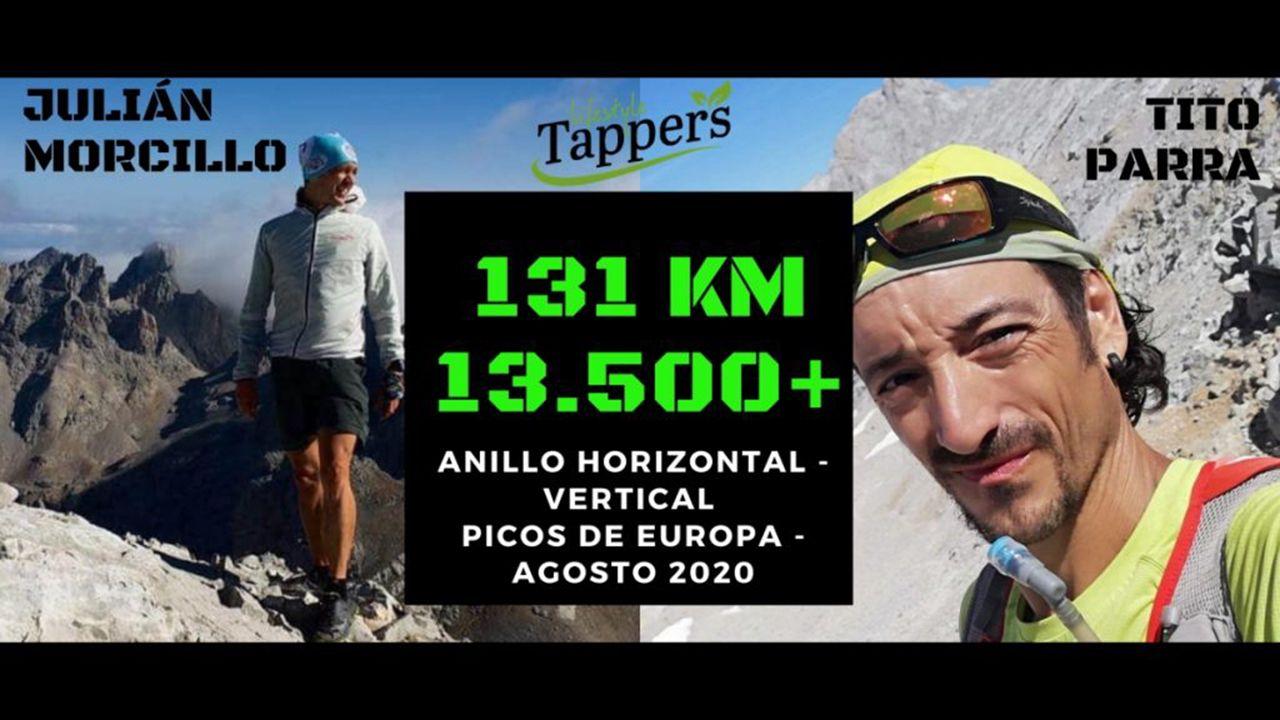 Reto en Picos de Europa.Reto de Tito Parra y Julián Morcillo en Picos de Europa