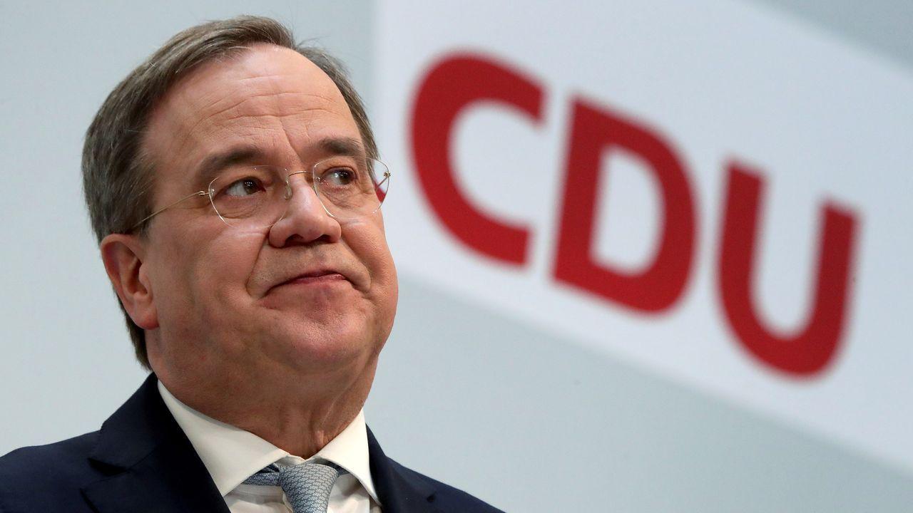 Armin Laschet, nuevo líder de la CDU tras la marcha de Merkel