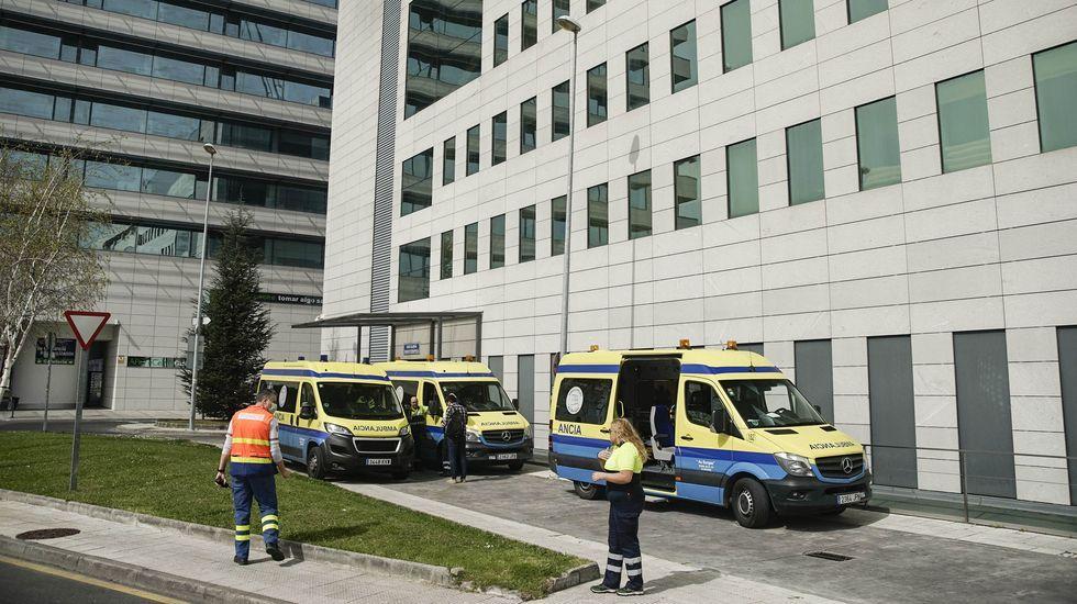 Los cuatro hospitalizados están en el CHUO